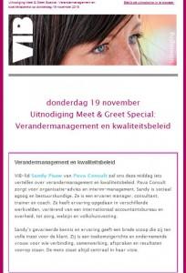 VIB 19-10-2015 uitnodiging veranderingmanagement en kwaliteit